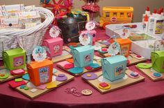 Lalaloopsy Party - L is obsessed with them!  If she continues this obsession for the next 5 months, Lalaloopsy-themed birthday party it is!