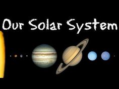 Our Solar System Video: Exploring Our Solar System: Planets and Space for Kids - FreeSchool Solar System Facts, Space Solar System, Solar System Projects, Solar System Planets, Our Solar System, Planetary System, 1st Grade Science, Kindergarten Science, Teaching Science