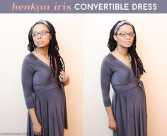 Henkaa Iris convertible dress via @sheenatatum