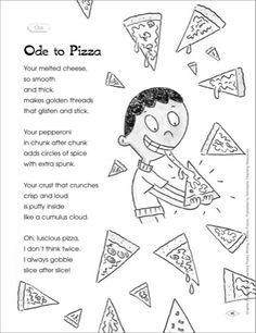 Ode lesson for middle school! Such a great way to get kids