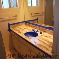 painting countertops instructions