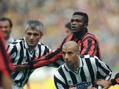 Fabrizio Ravanelli, Juventus FC (1992–1996, 111 apps, 41 goals), Vialli and Marcel Desailly