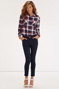 Grace High Waisted Ankle Grazer Jeans