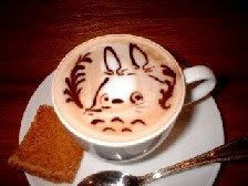 Image result for totoro coffee