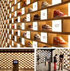 sneaker madness...oh, to have a closet like this!
