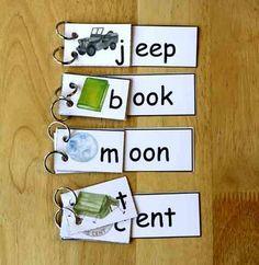 Rhyming Word Family Flip Books Freebee (k-1-2)
