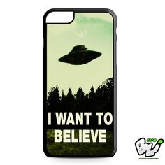 I Want To Believe X File iPhone 6 Plus Case   iPhone 6S Plus Case