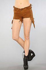 UNIF The Drew Short in Brown #missKL #Coachella #MissKLCoachella