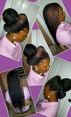 Crochet braids marley hair uncurled natural hair - Braids for Black Women Black Girl Braids, Braids For Black Women, Girls Braids, African Braids Hairstyles, Twist Hairstyles, Crochet Braids Marley Hair, Crochet Hair, Crochet Twist, Senegalese Twist Braids
