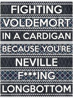 Neville Longbottom #cardigan #harrypotter #matthewlewis
