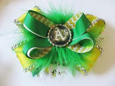 Oakland Athletics A's Stacked Over the Top by Bellafloracouture