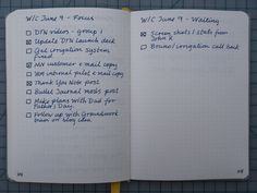 bullet journal adapted. The other thing that stock Bullet Journal was missing for me was a way to keep track of items that I was waiting for others to take action on. This is the classic @waiting context in Getting Things Done parlance.