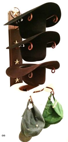 851398f3b57af Cowboy Hat Holder Lone Star American Made