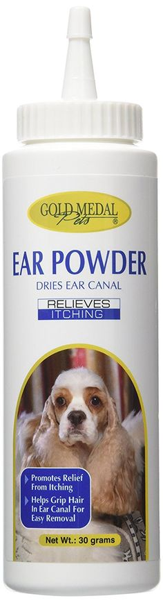 Gold Medal Groomers Ear Powder (30 Grams) *** Be sure to check out this awesome product. (This is an Amazon affiliate link)