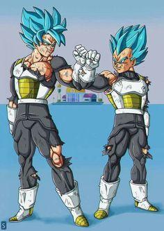 Ssgss Goku & Vegeta