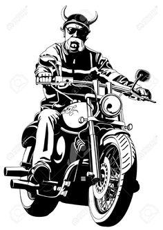 11351258-biker-Stock-Vector-motorcycle-skull-biker.jpg (921×1300)
