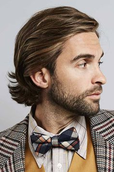 Get inspiring ideas for the most popular mens long hairstyles of 2020 in our gallery. We included shoulder length straight braids with highlights, a half up man bun with curly hair, a medium wavy undercut top knot with and without beard and many more. Medium Length Hair Men, Medium Hair Cuts, Medium Hair Styles, Long Hair Styles, Mens Hair Medium, Medium Curls, Mens Medium Long Hairstyles, Straight Hairstyles, Undercut Hairstyles