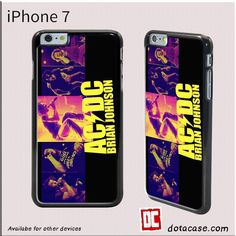 Acdc Brian Jhonshon For Iphone 7 Case
