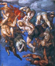 Los frescos del juicio final de Miguel Angel censurados por el Vaticano