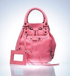 Product Handbags - Top Handles - Mini Pompon - Balenciaga - StyleSays