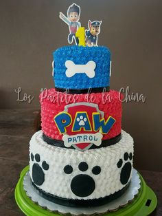 Paw Patrol cake. 1st Birthday. Party