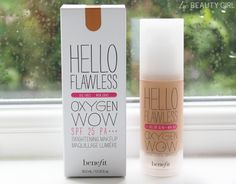 ' Oxygen Wow Liquid Foundation Color 'Warm Me Up' Toasted Beige. BRAND NEW IN BOX 🚫No Trades Benefit Makeup Foundation Foundation Colors, Liquid Foundation, Makeup Foundation, Benefit Makeup, Benefit Cosmetics, Hello Flawless Oxygen Wow, Makeup Routine, Beauty Hacks