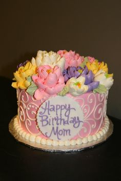 elegant birthday cakes for women | pin female birthday cake 1 cake picture to pinterest