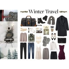 Winter Travel packing ideas