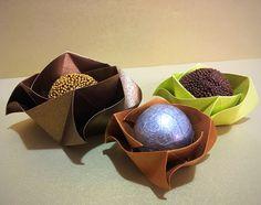 Forma de doces de origami!