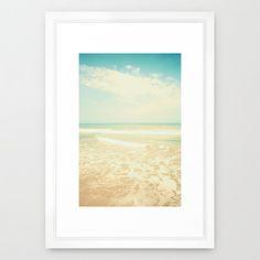 Beach art beach prints beach wall art beach by CarolineMint Frames On Wall, Framed Wall Art, Canvas Wall Art, Wall Art Prints, Nursery Prints, Nursery Art, Nursery Ideas, Beach Canvas, Beach Wall Art
