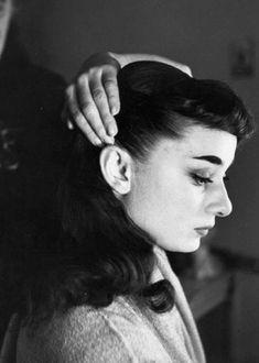 Audrey Hepburn, 1951.