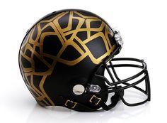 Bloomingdale's x CFDA x NFL Super Bowl XLVIII Helmets