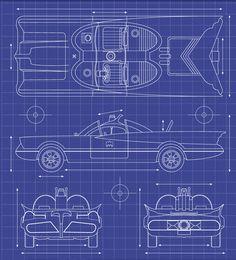 19133 batmobile schematics - Google Search