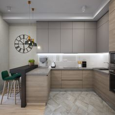 Wonderful Kitchen Bars Design Ideas For Kitchen Looks Cool 31 – Home Design Simple Kitchen Design, Country Kitchen Designs, Kitchen Room Design, Best Kitchen Designs, Kitchen Cabinet Design, Modern Country Kitchens, Home Decor Kitchen, Interior Design Kitchen, Kitchen Cabinets