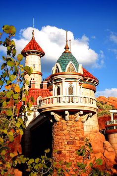 Ariels Castle ~ New Fantasyland.... cant wait to go see it #NewFantasyland #MomSelect