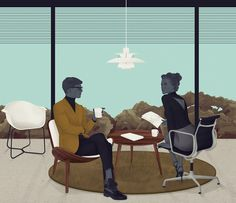 Jack Hughes / Clean Living // Modus Magazine - how many Eames & Hans J. Wegner designs can you spot?