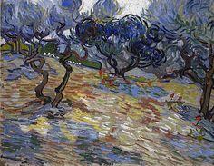 Vincent Van Gogh, 'Olive Trees' (1889)