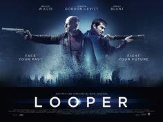 He's behind you... Joseph Gordon-Levitt and Bruce Willis