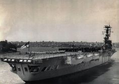 HMAS Sydney, bound for Vietnam, 1967.
