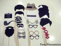 Party Pleasantries - The ULTIMATE MADMEN Collection- 28 Piece Photo Props