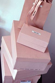 ✕ Miu Miu Shoe Boxes @Coveteur