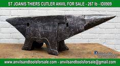 Ask for price with ID0909 on anvilsandtoolsforsale@gmail.com All pictures of all anvils on our website anvil for sale, anvils, blacksmith, blacksmiths, blacksmithing, antique tools, tool collector, swage block, stake, cone, cutler, french pig, amboss, incudine, schmied, forgeron, forge, enclume, forged, blacksmith tools, old tools, vintage tools, handtools, iron work, vise, stake, coutellier, chamouton, hulot harmel, collection, outil ancien, outils anciens, bigorne, art populaire, enclume