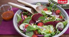 Perfect for Australia Day! Fresh and easy salad with Aussie beetroot.   #picnic #summersalad #fresh #recipe