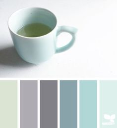 color palette - cup of hues