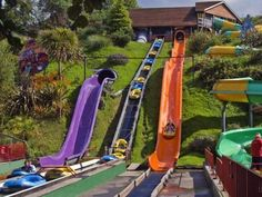 Devon's largest family theme park at Woodlands, Dartmouth, South Devon - a perfect day out for all the family whatever the weather. Camping Holiday, Holiday Park, Woodland Park, Woodland Theme, Camping Devon, Woodlands Camping, Uk Campsites, Visit Devon, South Devon