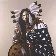 Native and American pride