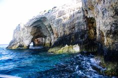 Blue Caves Caves, Olympus, Greece, Artist, Blue, Outdoor, Greece Country, Outdoors, Artists
