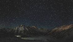 Big Almaty Lake - Stars Panorama by Yerlan Sadvakassov