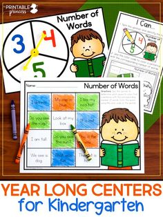 When planning centers for Kindergarten, it is important to provide students with meaningful activities that they can complete independently and be successful at. Read through to find out how you can easy plan for literacy and math centers while providing activities that will keep your Kindergartners engaged, on task, and working independently.
