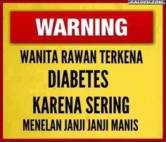 Wanita rawan terkena diabetes